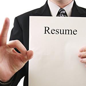 Resume-Block